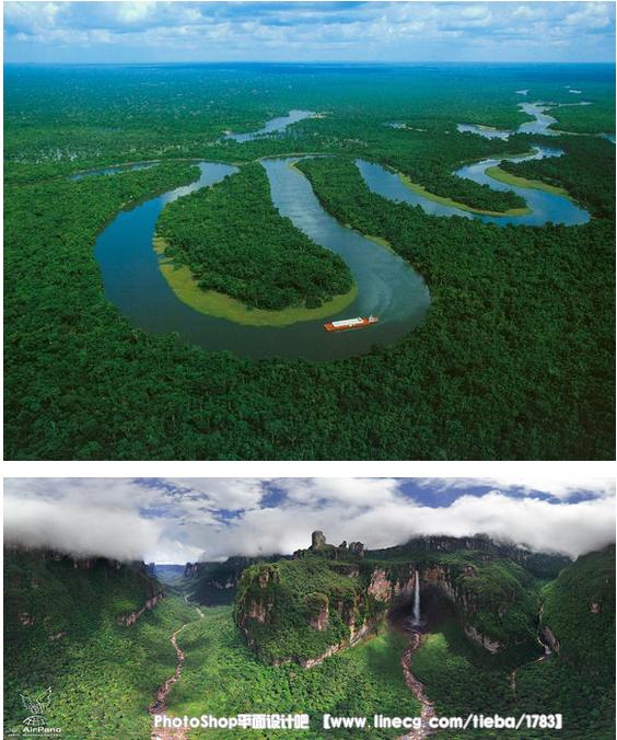 【素材】风景/地面/河流/山 - photoshop平面设计吧吧