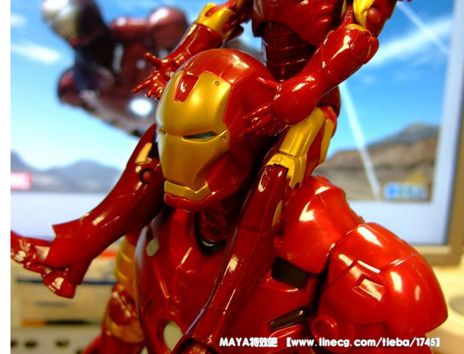 打造超级英雄钢铁侠_maya特效吧吧_直线网_最专业的