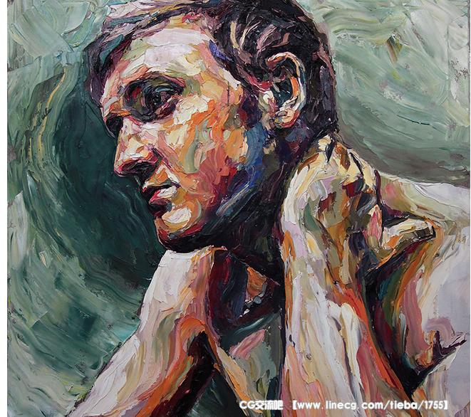 a Miels人物肖像油画作品设计欣赏