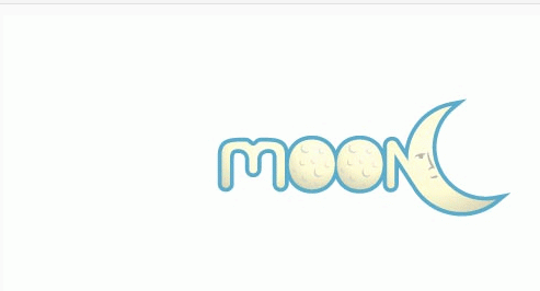 创意月亮标志设计 - 平面设计吧吧 - 直线网 - 最专业