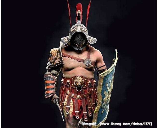 这个古罗马的角斗士没什么