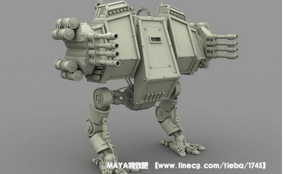 """""""狂拽酷炫吊炸天""""的机器人,希望能帮助大家学习模型师工作流程方法,以"""