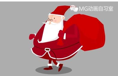 圣诞老人绘制与动画制作