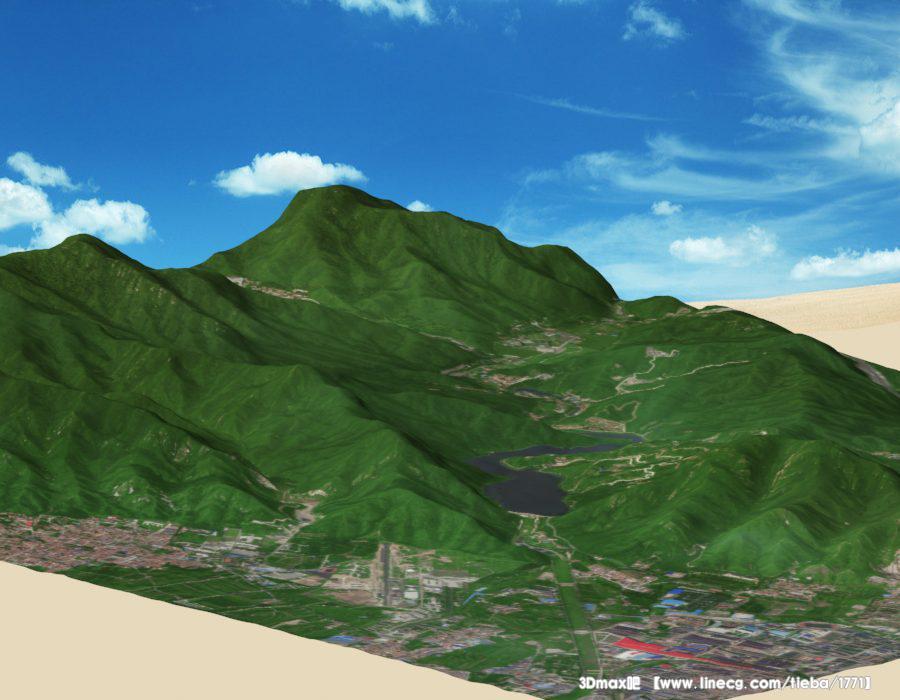 房地产建设规划,旅游景区规划设计,园林景观设计,军事仿真演习,防灾