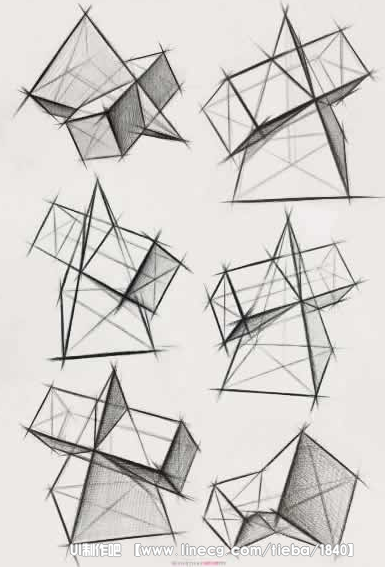 为什么素描要从几何图形画起?原因就是够简单