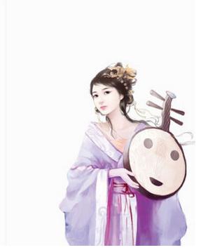 【经验交流】精美手绘中国风插图人物