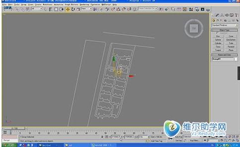 3dmax超大场景单面建模视频教程