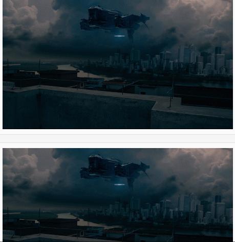 AE打造外星飞船入侵地球视频
