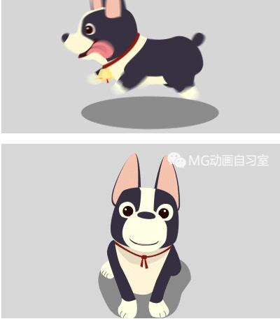 【交流】小狗卖萌动画制作
