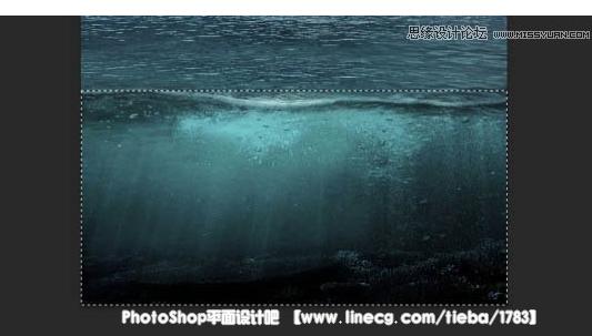 【教程】photoshop创意合成在海面上漂浮的岛屿