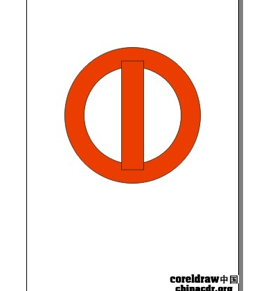 【教程共享区】cdr简单绘制中国银行标志教程