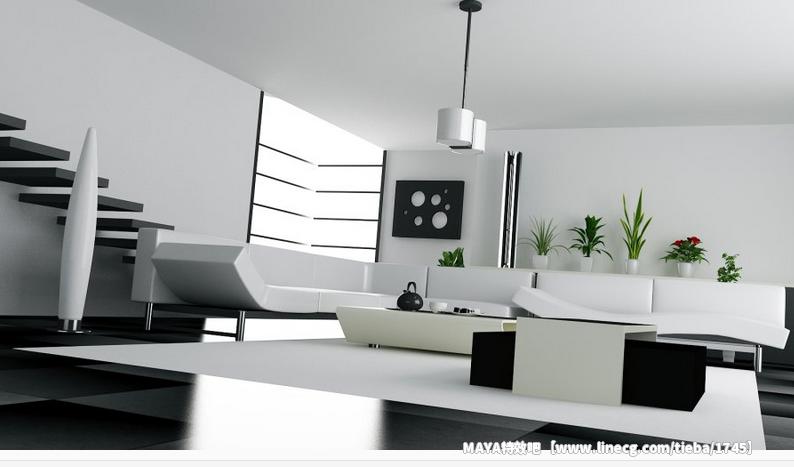 maya渲染室內效果圖