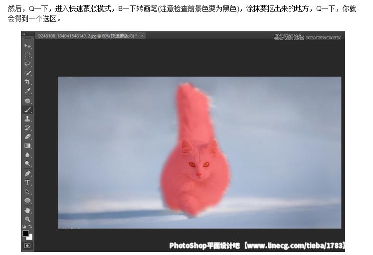 为什么在高版本的PS里,Adobe抛弃了抽出;答案是调整边缘就是抽