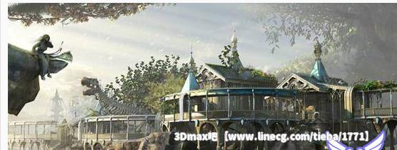 3dmax海边花园场景材质贴图教程