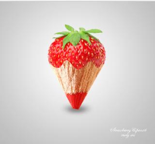 ps制作水果图片的步骤
